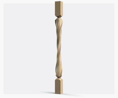 Декоративные столбы и балясины